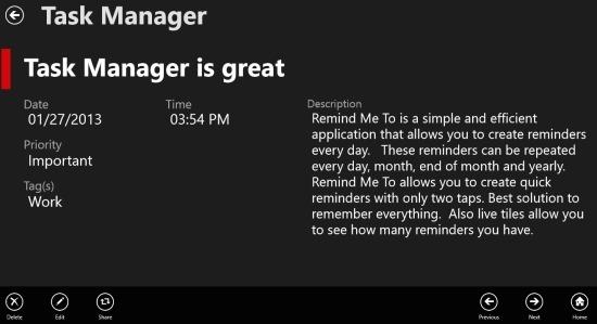 tasks in task manager windows