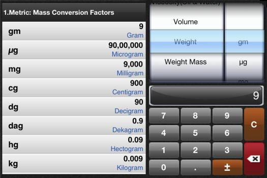 unit converter weight