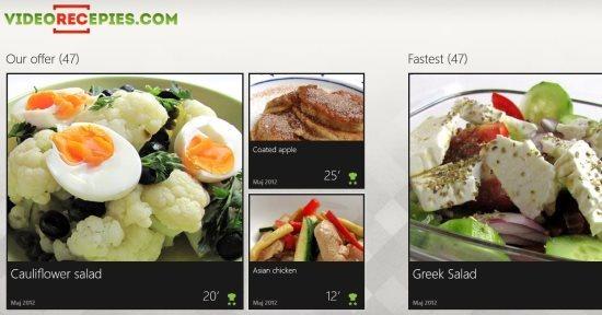 video recipes app