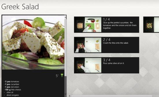 video recipes dish