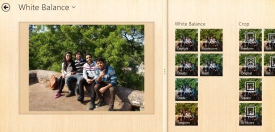 ALSee App For Windows 8 Photo Editor interface