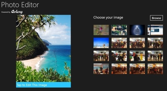 Aviary Photo Editor App For Windows 8