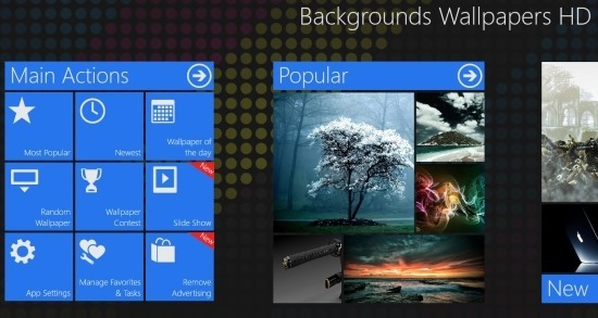Backgrounds Wallpaper HD for windows 8