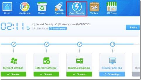 Baidu PC Faster 04