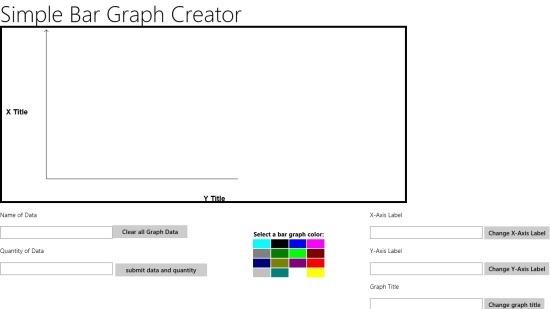 Bar Graph Creator windows 8