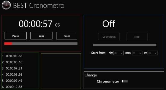 Best Cronometro windows 8