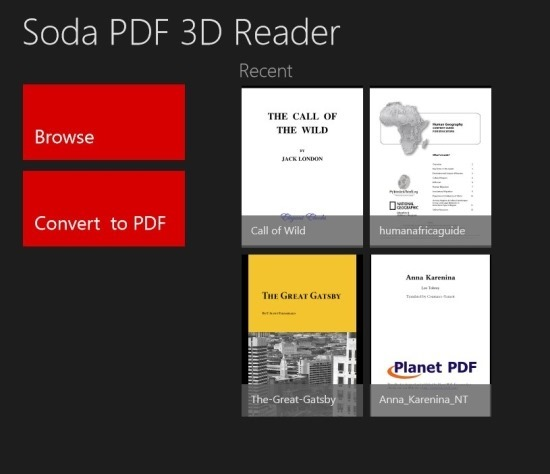 Best PDF Reader For Windows 8 Soda PDF 3D Reader