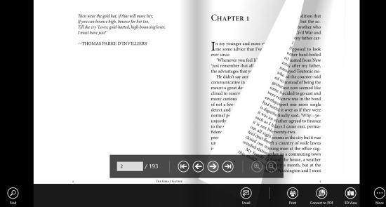 Best PDF Reader For Windows 8: Soda PDF 3D Reader