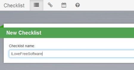 Cloud Checklist adding checklist