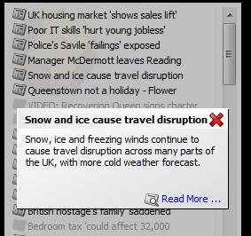 Desktop BBC News opening link