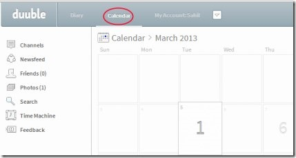 Duuble 02 free online diary