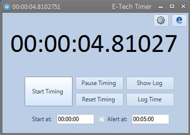 E-Tech Timer