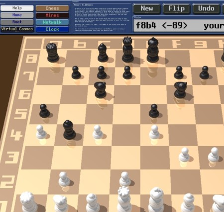 Eagle Mode playing chess