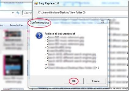 Easy Replace 02 replace files