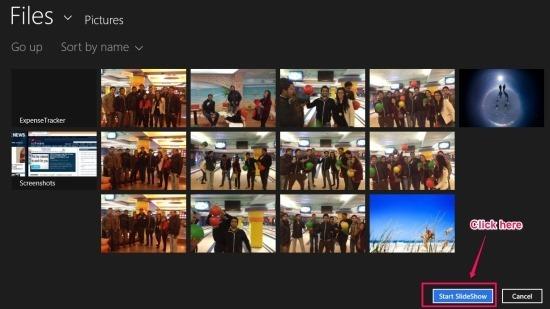 Fluid Slideshow App