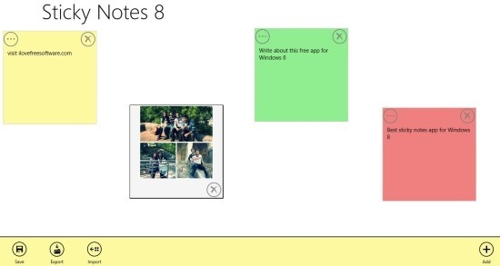 Free Sticky Notes App For Windows 8: Sticky Notes 8