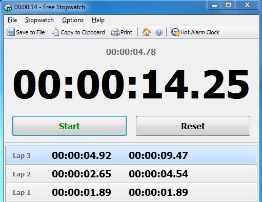 20 Free Stopwatch Software for Windows