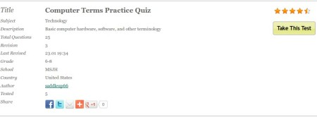 Gnowledge taking the test