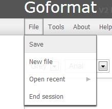 Goformat 02 text formatting tool