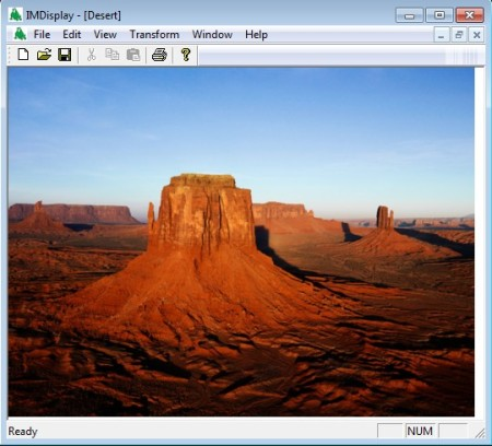 GraphicsMagick default window