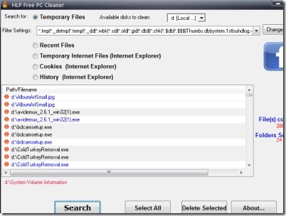 HLP Free PC Cleaner 01
