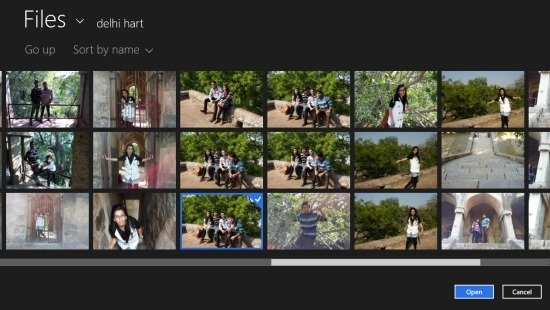 How to use Polaroid App For Windows 8