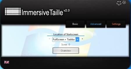 ImmersiveTaille taskbar fullscreen