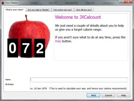 JXCirrus CalCount info