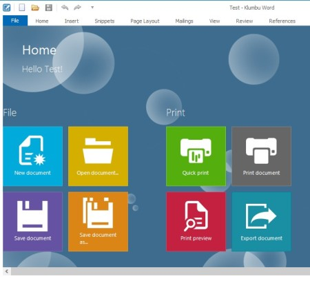 Klumbu windows 8 ui