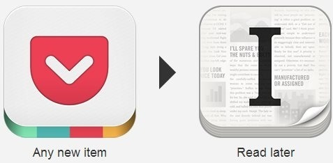 New items Pocket are automatically added to Instapaper