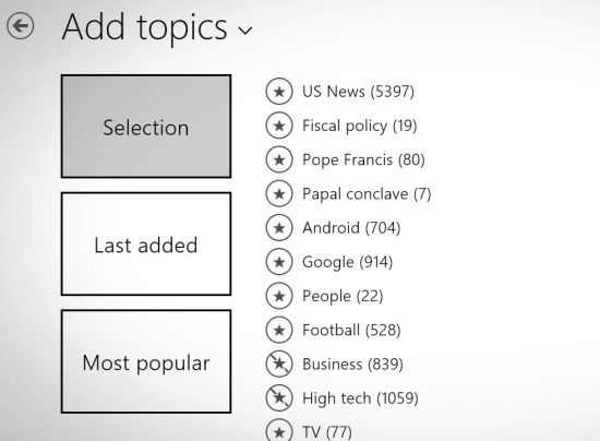 News App For Windows 8