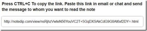 NoteDIP URL