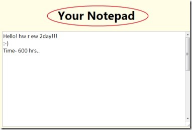 Notepad 01 notepad extension