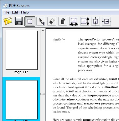 PDF Scissors cropped PDF