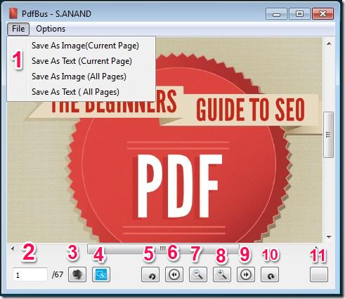 PDFBus Interface Details