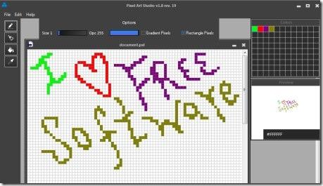 PIXEL 01 make pixel art