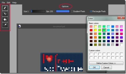 PIXEL 02 make pixel art