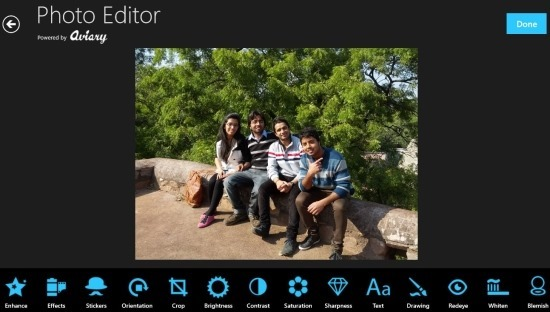 Photo Editor App For Windows 8