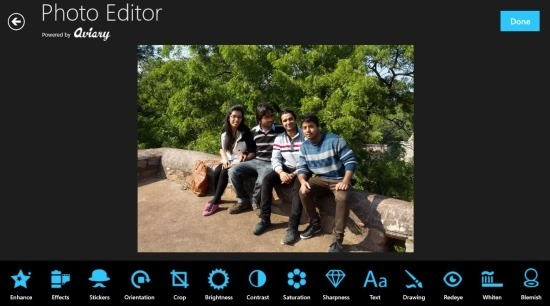 Photo Express Free Photo Editor App For Windows 8