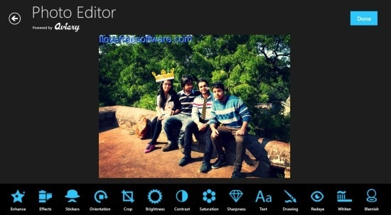 Photo Express Photo Editor App For Windows 8 (2)