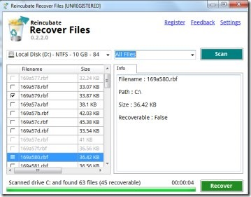 Reincubate Recover Files 01 file recovery software