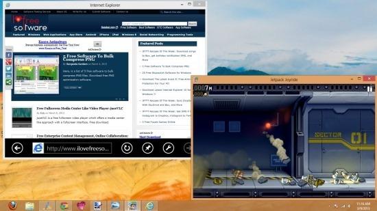 Run Windows 8 Metro Apps On The Desktop