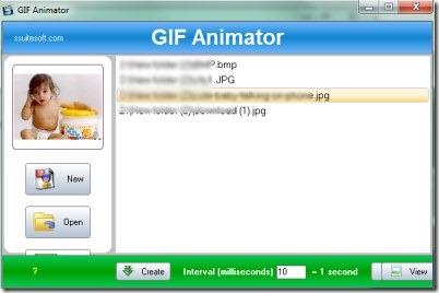 SSuite GIF Animator 001