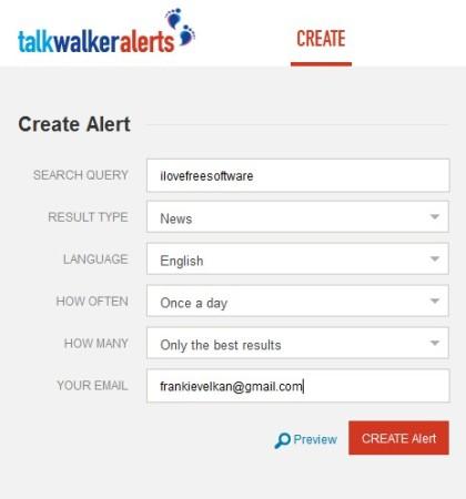 TalkWalkerAlerts default window