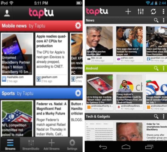 Taptu for android ios (2)
