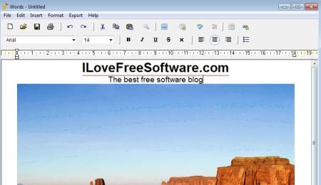 Wordz created document