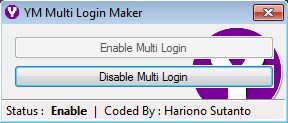 YM Multi Login Maker working
