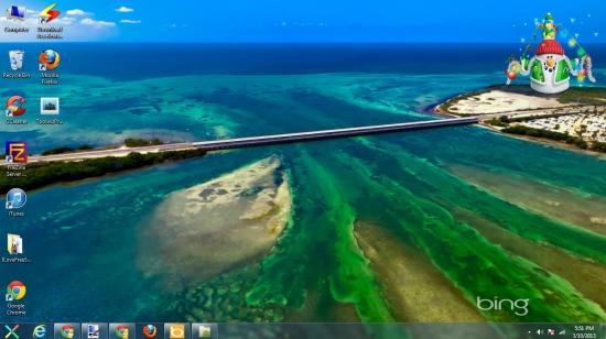 bing desktop background