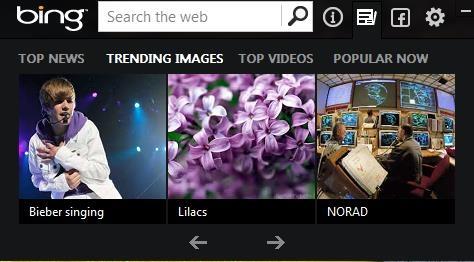 bing desktop top images