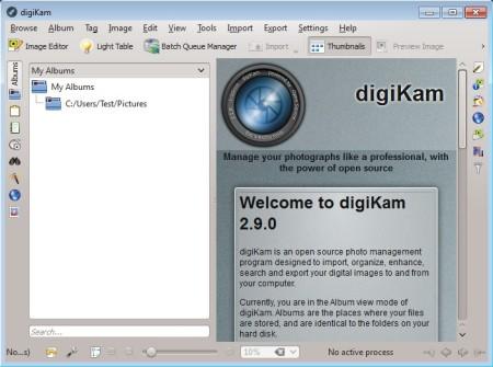 digiKAM default window